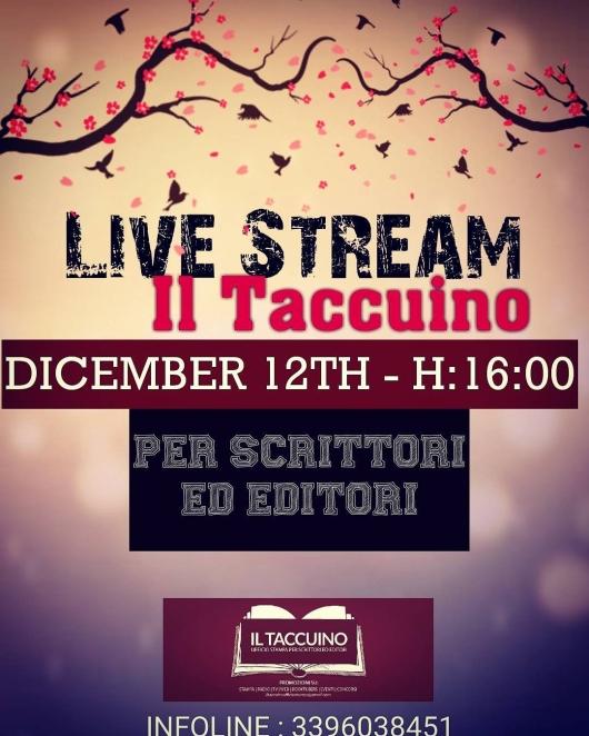 Il Taccuino Diretta Streaming