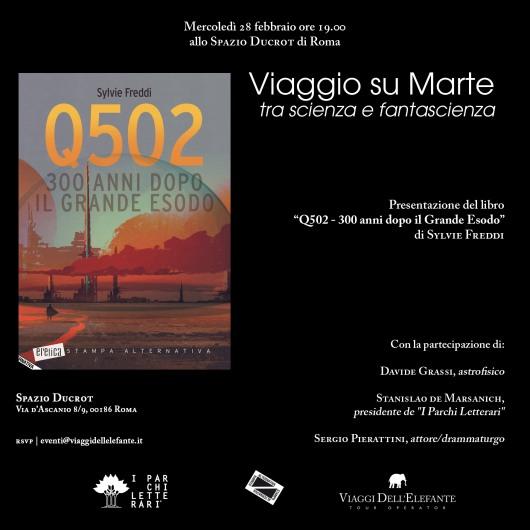 Q502 presentazione Roma